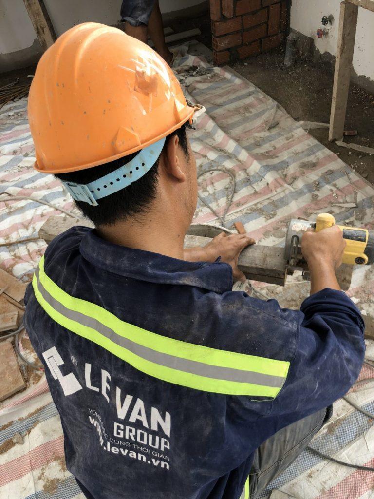 Công trình sửa chữa trọn gói chị Vân tại Quận 3