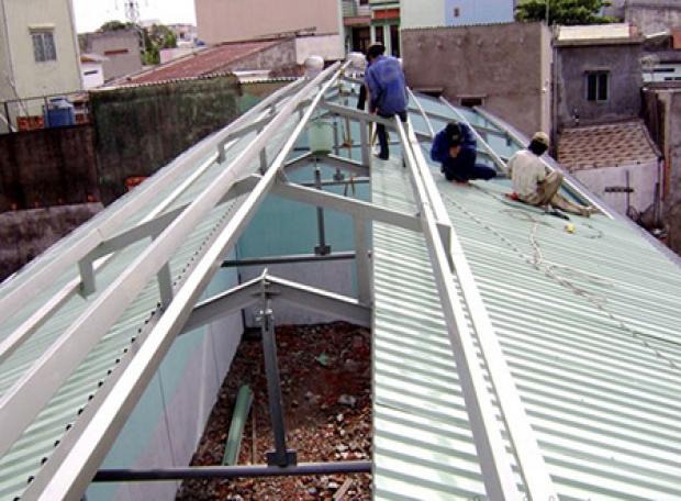 Dịch vụ sửa chữa và thay mái tôn