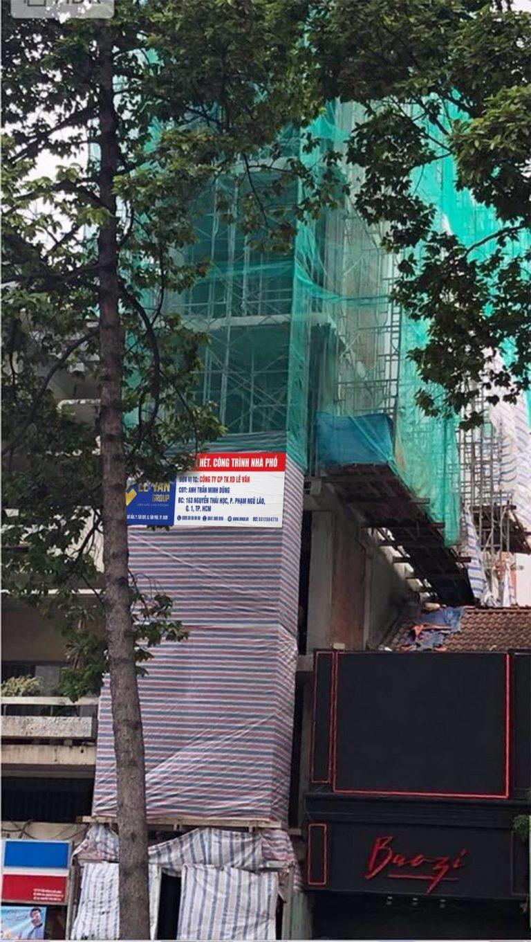 Công trình nhà phố anh Trần Minh Dũng tại Quận 1