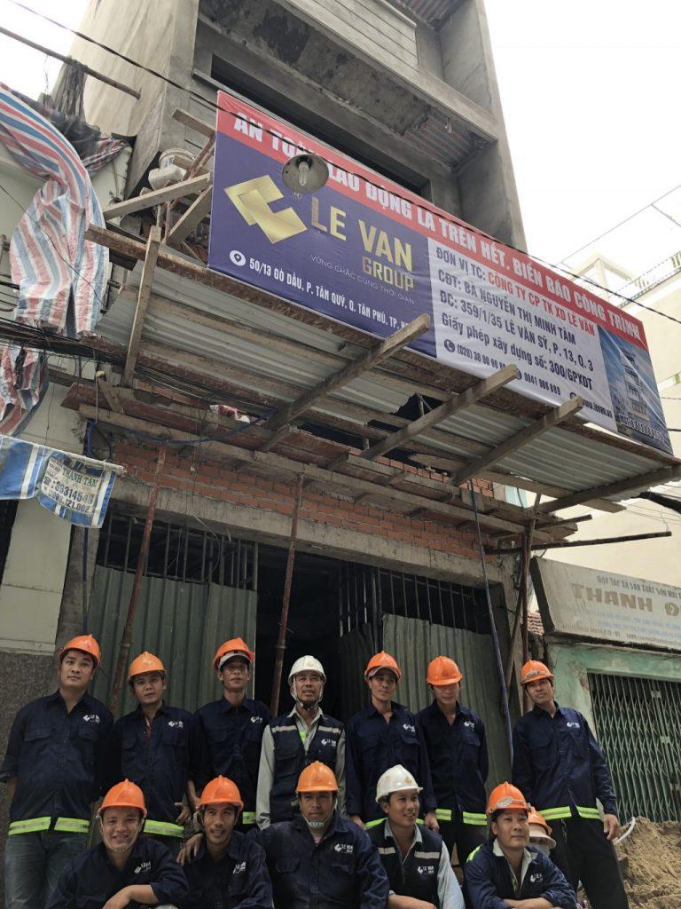 Lê Văn – Nhà thầu xây dựng uy tín tại TpHCM