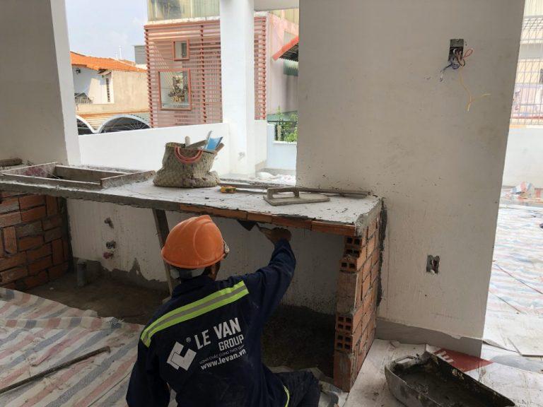 Công trình sửa nhà cô Tuyền tại Tân Phú