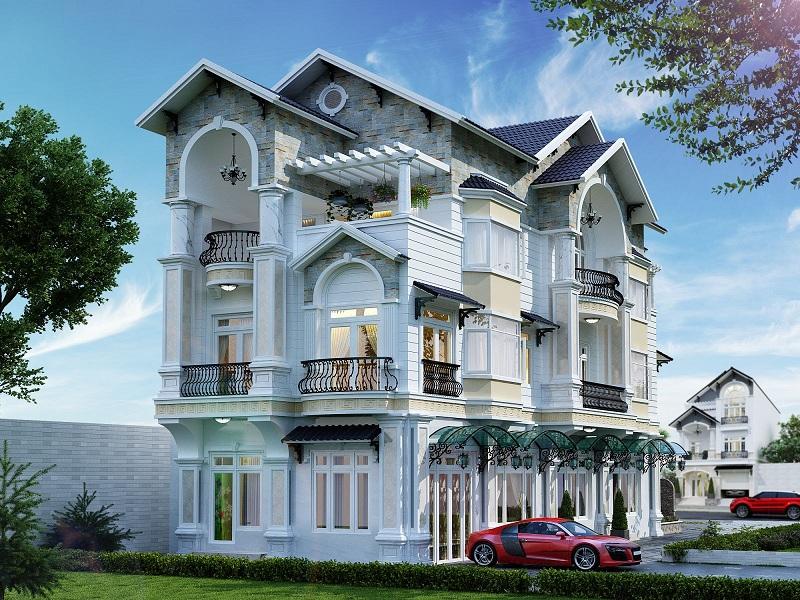 Top 20+ mẫu nhà biệt thự siêu đẹp năm 2020