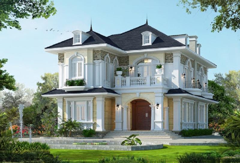 Mẫu nhà biệt thự đẹp số 7