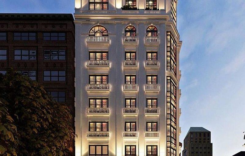 Top 20 mẫu thiết kế khách sạn sang chảnh không nên bỏ qua